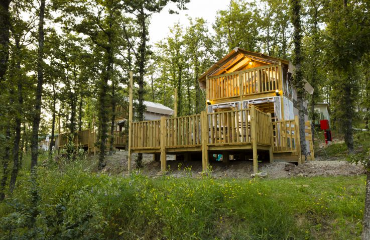 Camping La Rocca airlodges - Gardameer