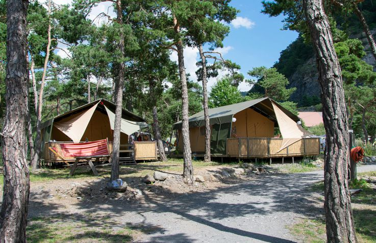 Camping River - Glamping Franse Alpen