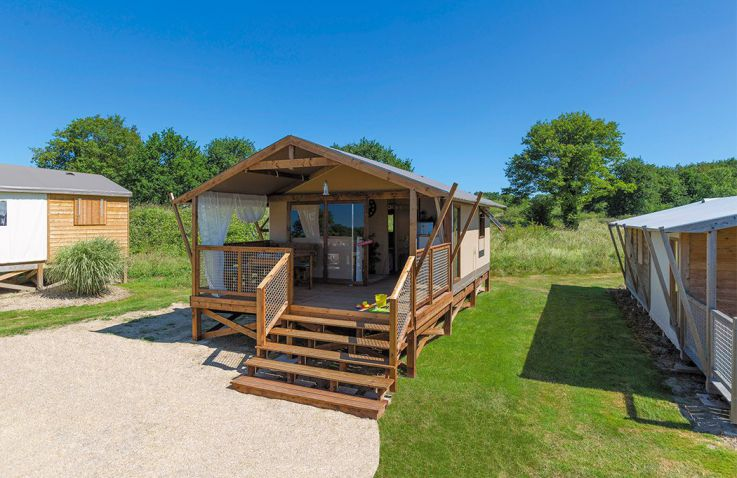 Camping Falaise Narbonne Plage - Lodgetent in Languedoc-Roussillon