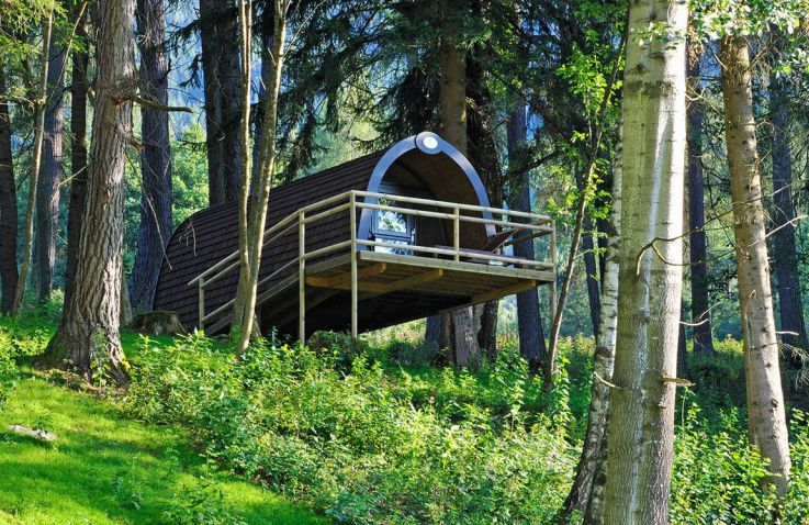 Nature Resort Natterer See - Woodlodges Tirol