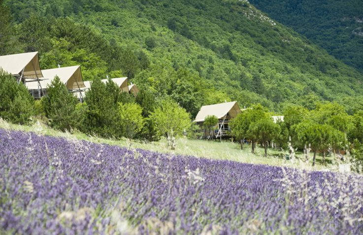 Village Huttopia Dieulefit – Glamping Drôme-Provence