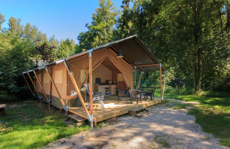 Camping de la Bonnette - safaritenten in Occitanie