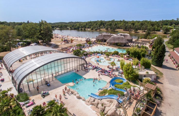 Camping Les Alicourts Resort - Lodges Loire