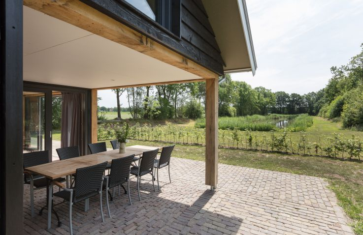 Luxe lodge 10 pers. - Twente Lodge